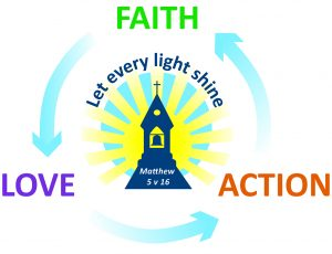 Faith Love Action Logo